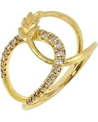 Annoushka | Metallic Vasilisa 18ct Yellow-gold And Diamond Ring | Lyst