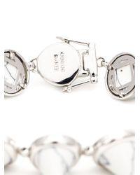 Eddie Borgo | Metallic Gemstone Cone Bracelet | Lyst