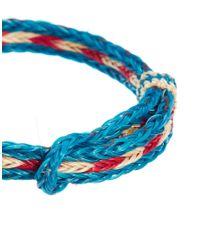 Chamula | Blue Braided Bracelet for Men | Lyst