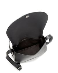 Vince - Black Calf Hair & Leather Crossbody Bag - Lyst