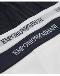Emporio Armani | Multicolor Two Pack Of Boxer Shorts for Men | Lyst