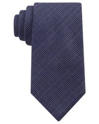 Michael Kors | Blue Collection Suiting Plaid Tie for Men | Lyst