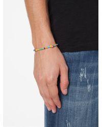 Luis Morais | Blue Skull Beaded Bracelet | Lyst
