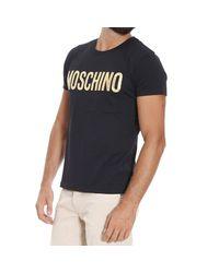 Moschino | Black T-shirt for Men | Lyst