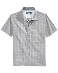 Quiksilver | Gray Waterman Collection Rockingham Bay Shirt for Men | Lyst