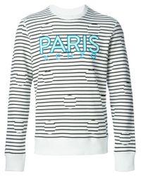 KENZO | Black 'Dots & Stripes' Sweatshirt for Men | Lyst