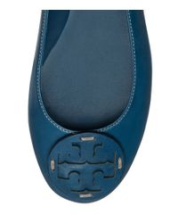 Tory Burch - Blue Reva Deconstructed Ballet Flat - Lyst