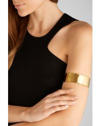 Arme De L'Amour | Metallic Bamboo Gold-plated Arm Cuff | Lyst