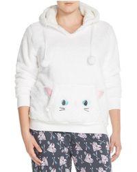 Cozy Zoe | White Hooded Sweatshirt | Lyst