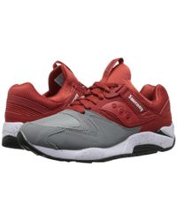 Saucony | Gray Grid 9000 for Men | Lyst