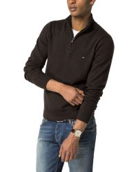 Tommy Hilfiger | Brown Liam Lambswool Jumper for Men | Lyst