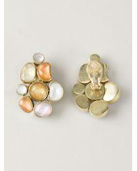 Vaubel | Multicolor Connect Shape Clip-on Earrings | Lyst