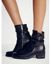 Free People | Black A.s.98 Womens Netta Ankle Boot | Lyst