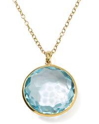 Ippolita | Metallic 18k Gold Rock Candy Lollipop Pendant Necklace | Lyst