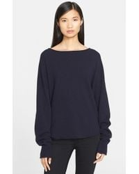 Helmut Lang | Black Cashmere Sweater | Lyst