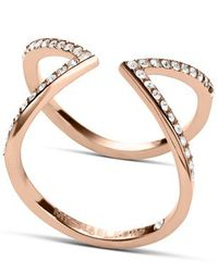 Michael Kors | Pink Mkj3750791003 Womens Ring | Lyst