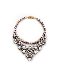 Shourouk - Pink Princess Necklace Comet - Lyst