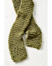Urban Outfitters | Green Icelandic Rib Scarf | Lyst