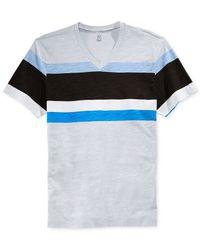 INC International Concepts - Metallic Pop Stripe T-shirt for Men - Lyst