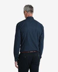 Ted Baker - Blue Circle Print Shirt for Men - Lyst