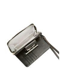 Aimee Kestenberg   Black Leather Wristlet Wallet   Lyst