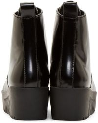 Opening Ceremony - Black Lace_up Platform Boot - Lyst