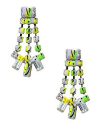 Tom Binns | Green Earrings | Lyst
