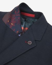Ted Baker - Blue Birdseye Jacket for Men - Lyst