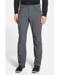 Patagonia | Gray 'quandary' Slim Fit All Season Pants for Men | Lyst