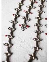 Free People - Metallic Dannijo Womens Philo Statement Necklace - Lyst