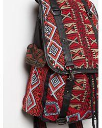 Free People - Black Rosalind Backpack - Lyst