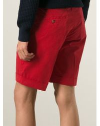 AMI | Red Chino Shorts for Men | Lyst