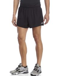 New Balance | Black Run Impact Shorts for Men | Lyst