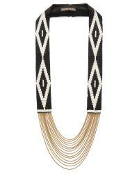 Fiona Paxton | Metallic Shona Necklace - Black | Lyst