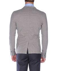 Paolo Pecora | Gray Blazer for Men | Lyst