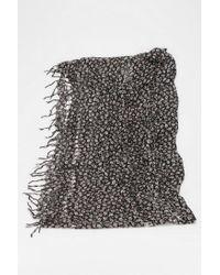 Urban Outfitters | Gray Shredded Dye Eternity Scarf | Lyst