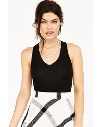 Truly Madly Deeply - Black Voop Tank Top - Lyst