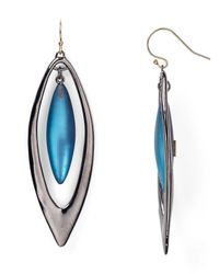 Alexis Bittar - Metallic Lucite Large Marquis Orbital Drop Earrings - Lyst