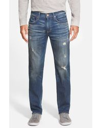 Joe's Jeans - Blue 'brixton' Slim Fit Jeans for Men - Lyst