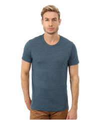 Alternative Apparel | Blue S/s Crew Tee for Men | Lyst