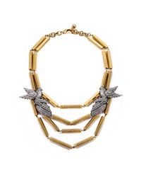 Lulu Frost | Metallic Aviary Statement Necklace | Lyst