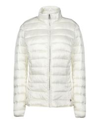 Napapijri | Natural Insulated Quilted Jacket  | Lyst