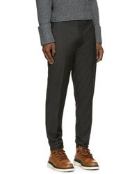 3.1 Phillip Lim - Gray Grey Wool Trousers for Men - Lyst