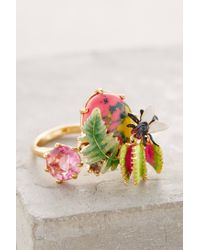 Les Nereides | Metallic Subtropical Ring | Lyst