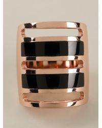 Pamela Love - Metallic Inlay Path Ring - Lyst