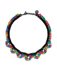 Venessa Arizaga - Multicolor 'electra' Threadwork Necklace - Lyst