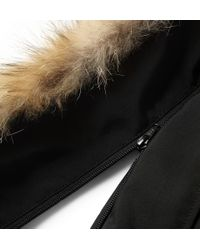 Canada Goose - Black Down Chateau Parka for Men - Lyst
