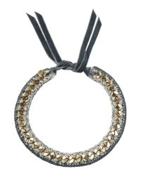 First People First - Gray Necklace - Lyst