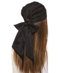 Eugenia Kim | Nan Headwrap - Black | Lyst