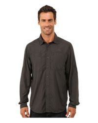 The North Face | Black Long Sleeve Tek Hike Shirt for Men | Lyst